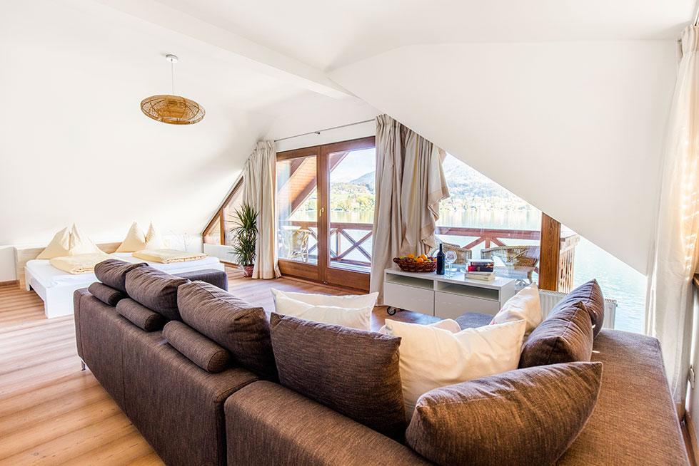 Seevilla Leitner am Millstätter See – Schlafzimmer – Urlaub in Kärnten am See