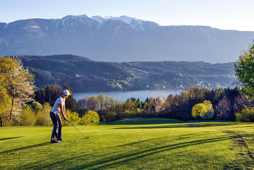 Golf am millst tter see urlaub in k rnten am see in der for Ferien am see