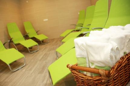 Ruheraum im Schwesterhotel Sporthotel ROYAL X – Appartements direkt am Millstätter See – Seevilla Cattina