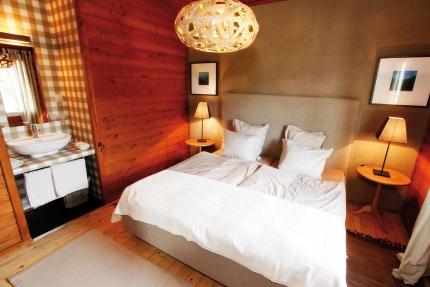 Ferienhäuser Leitner – Schlafzimmer – Ferienhäuser für Ihren Familienurlaub am Millstätter See in Kärnten