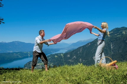 Picknick in Kärnten am Millstätter See – Seevilla Cattina – Urlaub im Appartement am Millstätter See