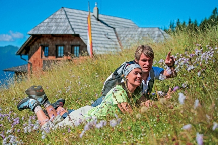 Wandern am Millstätter See in Kärnten – Urlaub im Appartement – Seevilla Cattina am Millstätter Se