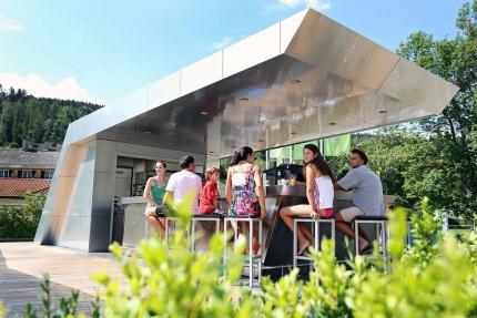 X-Bar – die Strandbar am Millstätter See – Seevilla Cattina – Urlaub im Appartement am Millstätter See