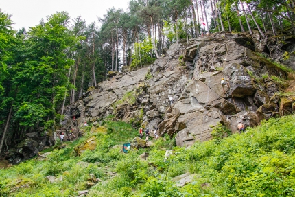 Peter-Santer-Kletterfelsen – Klettern am Millstätter See – Urlaub im Appartement am Millstätter See – Seevilla Cattina