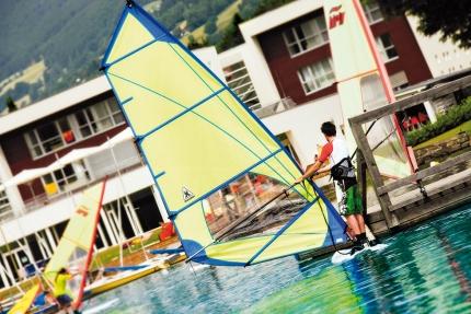 Windsurfen am Millstätter See – Appartements am Millstätter See – Seevilla Cattina