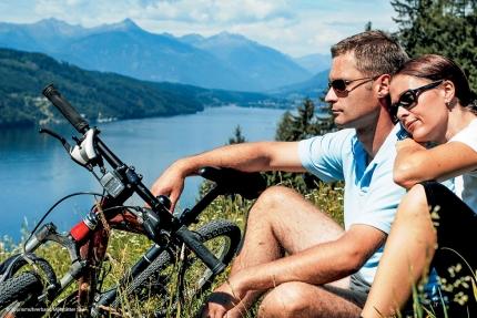 Radfahren am Millstätter See – Appartements am Millstätter See – Seevilla Cattina