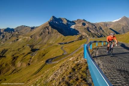 Erlebnis pur für Radfahrer auf der Großglockner Hochalpenstraße – Seevilla Cattina – Appartements am Millstätter See