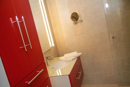 Badezimmer Appartement Wasserstern – Seevilla Cattina – Appartements direkt am Millstätter See in Kärnten