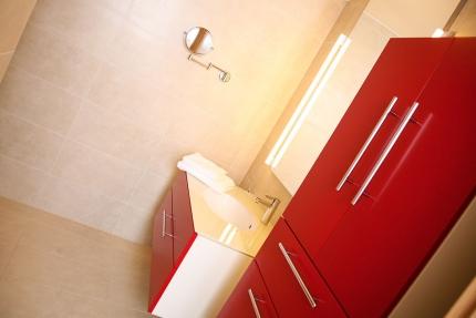 Badezimmer Appartement Seerose – Seevilla Cattina – Appartements direkt am Millstätter See in Kärnten
